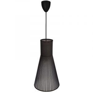 Atmosphera Suspension cône Noire - E14 - 38 cm