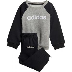Adidas Ensembles de survêtement Ensemble sportswear Linear Fleece Gris - Taille 12 / 18 mois,3 / 6 mois,6 / 9 mois,9 / 12 mois,2 / 3 ans,3 / 4 ans,0 / 3 mois