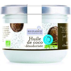 Bio planète Huile de coco désodorisée 400ml
