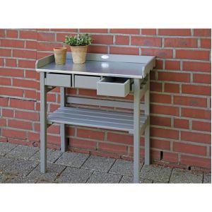 Esschert design Table de jardinage surélevée