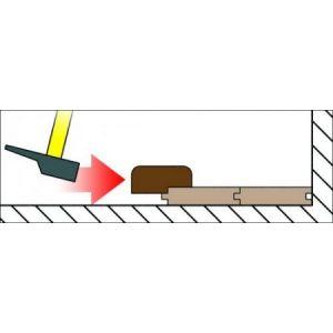 Outifrance Bloc a frapper bois pour parquet200x60x30 lamage 6mm
