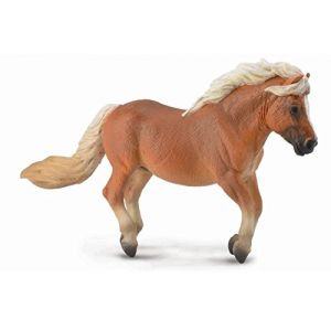 Collecta 88605 - Figurine cheval Poney Shetland Alezan