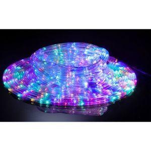Cordon lumineux solaire multicolore (18m)