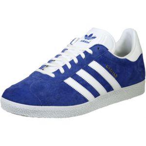 Adidas Gazelle, Baskets Homme, Bleu (Collegiate Royal/White/Gold Metallic 0), 39 1/3 EU