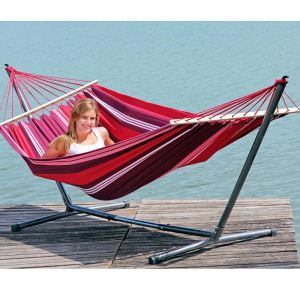 Amazonas Hamac Summer Set (210 x 120 cm) avec support Sumo