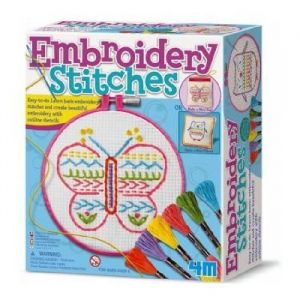 4M - Kidz Labs Kit broderie points