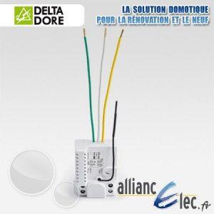 Delta Dore Tyxia 4630 - Micromodule récepteur radio - 1 voie montée/descente