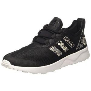 Adidas ZX Flux ADV Verve, Baskets Basses Femme, Noir (Core Black/Core Black/FTWR White), 36 2/3 EU