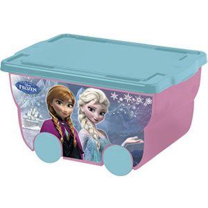 Mercier Toys Caisse à roulettes La Reine des Neiges 55 L