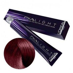 L'Oréal Dia light n°5.66 châtain clair rouge profond