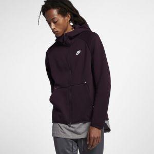 Nike Sweat à capuche entièrement zippé Sportswear Tech Fleece Homme - Rouge - Taille XS