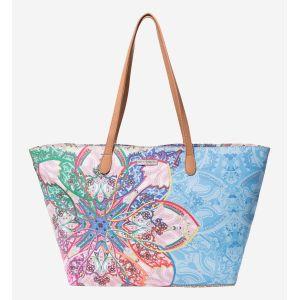 Desigual Shopper Women Blue/ Multicolor