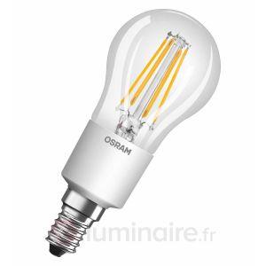 Osram Ampoule filament LED E14 5 W équivalent a 40 W blanc chaud dimmable variateur