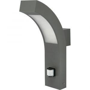 Applique murale LED extérieure avec détecteur de mouvements 12535 LED intégrée anthracite