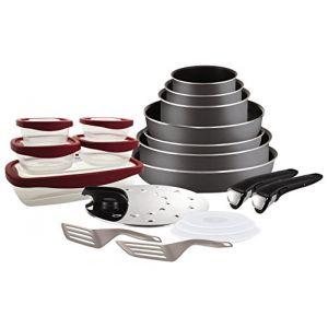 Tefal L2049102 - Batterie de cuisine Ingenio Essential 20 pièces