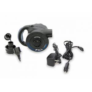 Intex Gonfleur électrique 12 et 220V rechargeable
