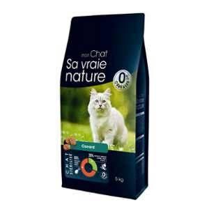 Sa vraie nature Croquettes pour chat stérilisé au canard - 5 kg