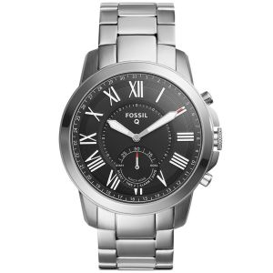 Fossil Q Grant acier inoxydable argent