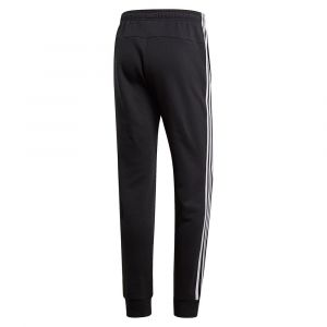 Adidas Essentials 3 Stripes Fleece Pants Regular - Black / White - Taille XL