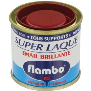 flambo laque brillante 50 ml rouge vif comparer avec. Black Bedroom Furniture Sets. Home Design Ideas