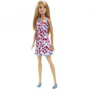 Mattel Barbie Chic blonde robe fleurie rose et blanche