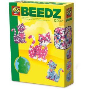 Ses Creative Beedz : Perles à repasser Chat