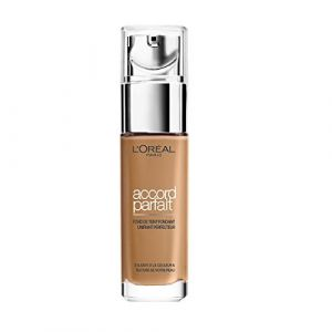 L'Oréal Make Up Designer - Accord Parfait Fond de Teint Fluide Unifiant Caramel Doré (6,5.D) 30ml