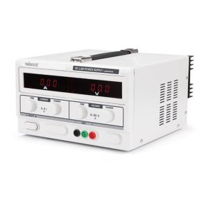 Velleman ALIMENTATION DC LAB 0-50 VCC / 0-5 A MAX AVEC DOUBLE ECRAN LED - LABPS5005