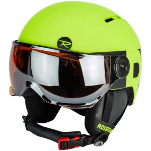 Rossignol Visor Junior Neon Yellow Black