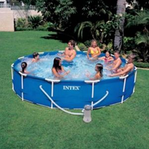 Intex 28212 - Piscine tubulaire ronde 3,66 x 0,76 m