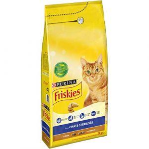Friskies Croquettes à la dinde et aux légumes - Pour chat stérilisé - 2 kg