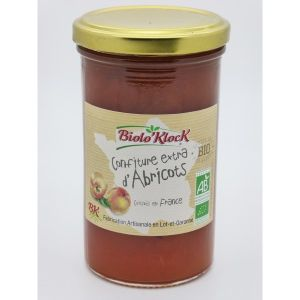 Biolo'klock Confiture EXTRA Abricots 300g