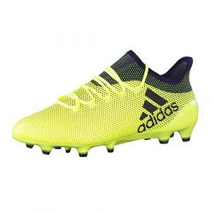 Adidas X 17.1 FG, Chaussures de Football Homme, Jaune (Amasol/Tinley/Tinley), 44 2/3 EU