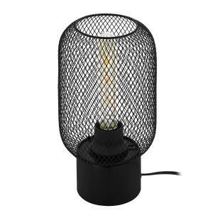 Eglo Lampe à poser WRINGTON Noir, 1 lumière - Vintage - Intérieur - WRINGTON - Délai de livraison moyen: 10 à 14 jours ouvrés. Port gratuit France métropolitaine et Belgique dès 100 €.