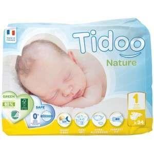 Tidoo 34 couches Eco Newborn T1 (2-5 kg)