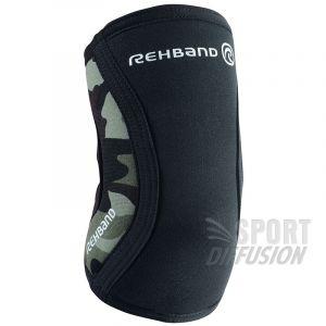 Rehband Coudière RX Support 5mm Noir/kaki