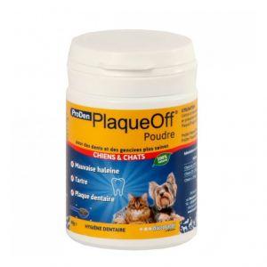 ProDen Soin dentaire en pot Plaque Off chat et chien, 40 g - BUCCOSANTÉ