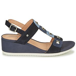 Geox Sandales D ISCHIA Bleu - Taille 36,39