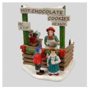 Stand de chocolat chaud