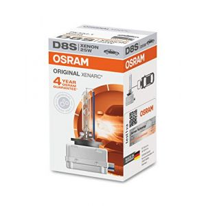 Osram 66548 Lampe Xenon pour Voiture 25W 12V, Phares Avant XENARC D8S, boîte Pliante de 1