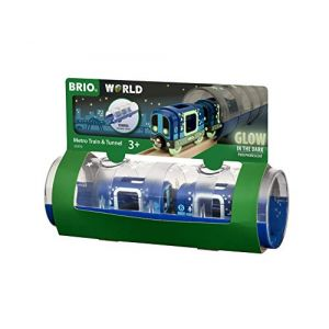 Brio Métro et tunnel phosphorescents World 33970