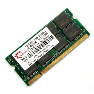 G.Skill F2-5300CL5S-2GBSQ - Barrette mémoire Standard 2 Go DDR2 667 MHz CL5 200 broches