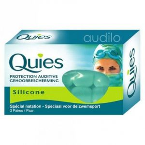 Quies Protection auditive silicone enfant 3 paires