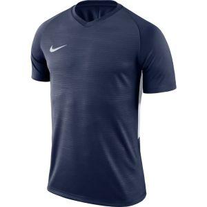 Nike Maillot Tiempo Premier - Bleu Marine/Blanc - Bleu - Taille Medium
