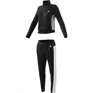 Adidas W TS Teamsports Survêtement Femme, Black/Black, FR : L