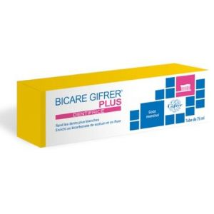 Gifrer Bicare plus - Dentifrice 75 ml