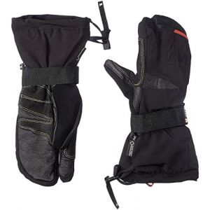 Millet Gants D'alpinisme Expert 3 Fingers GTX Glove - Noir Noir - Femme, Homme
