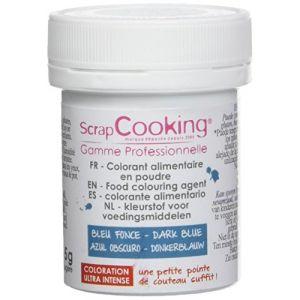 Scrapcooking Colorant artificiel en poudre - bleu foncé 5g