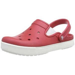 Crocs CitiLane Clog, Sabots Mixte Adulte, Rouge (Pepper/White) 45/46 EU