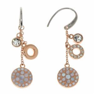 Fossil JF01738791 - Boucles d'oreilles pendantes pour femme